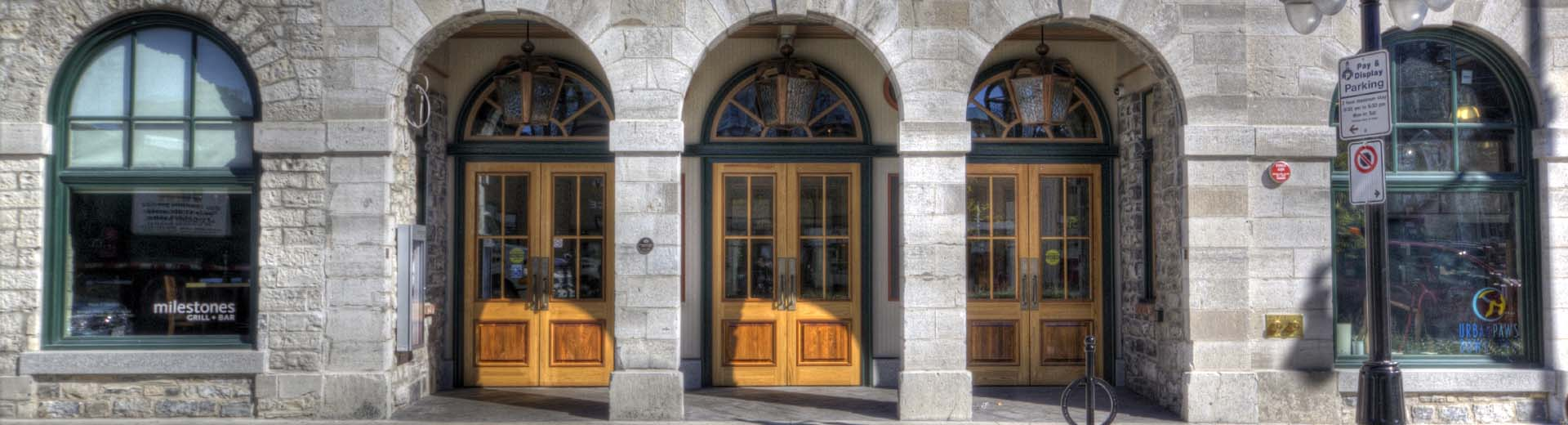 front doors smith robinson building Kingston
